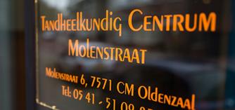 Tandheelkundig Centrum Molenstraat | Tandartsen Molenstraat in Oldenzaal